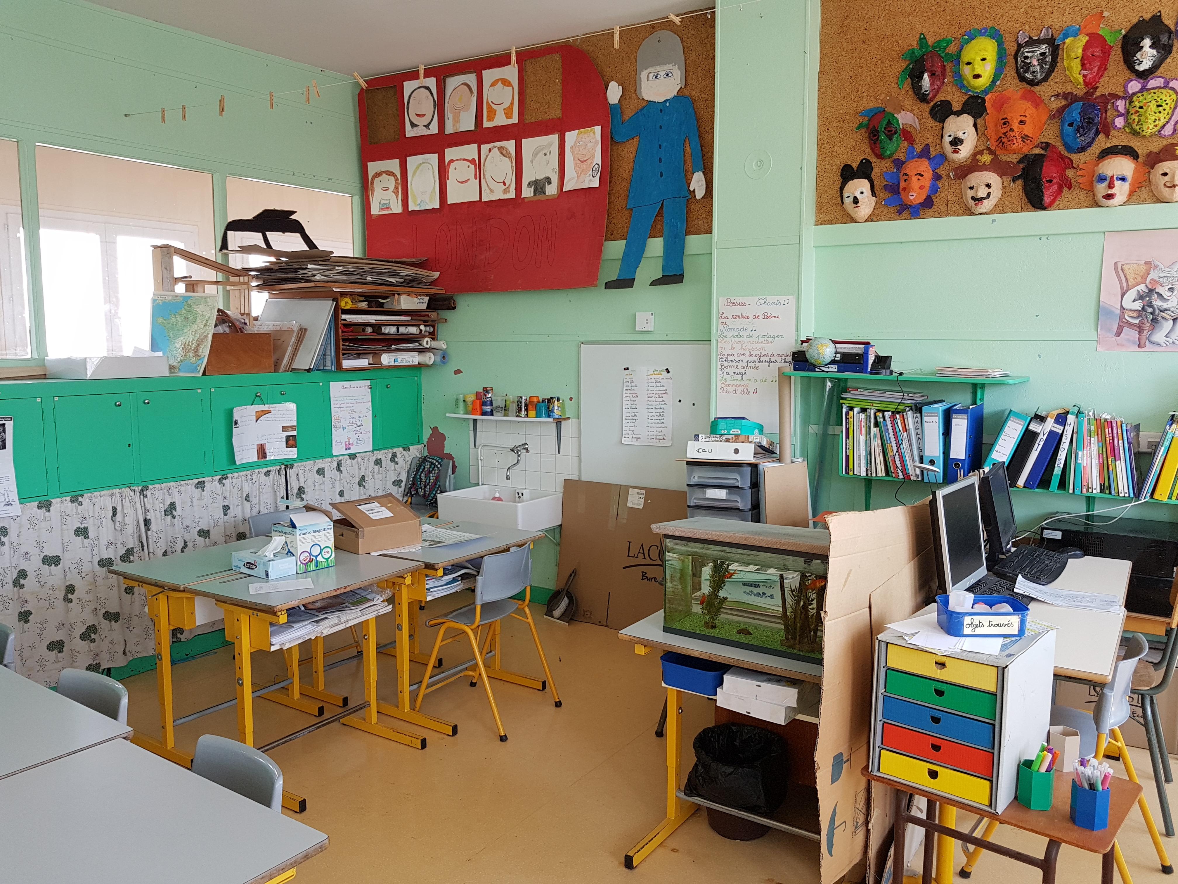 Installation estivale en école primaire et crêche