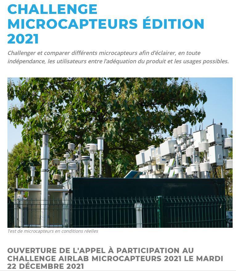 Challenge microcapteurs 2021 – AIRLAB