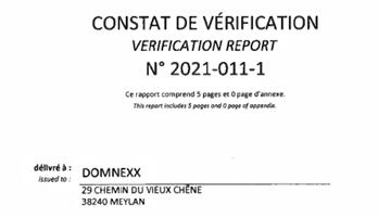 Conformité LAB30-REF (COFRAC)